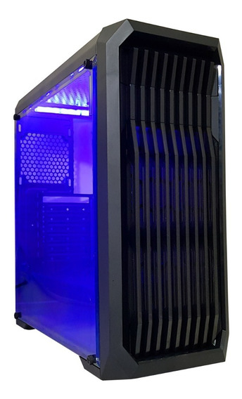 Pc Cpu Gamer /core I7/ 8gb/ 1tb/gtx1050 4gb Ti/wifi/led Gab.
