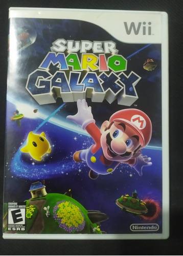 Jogo Super Mario Galaxy Original Completo Nintendo Wii