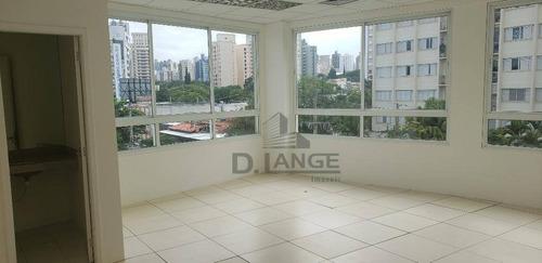 Sala Para Alugar, 40 M² Por R$ 3.500/mês - Cambuí - Campinas/sp - Sa1902