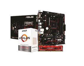 Kit Amd Athlon 200ge Asus Prime B450m G 8gb Bls 2400mhz