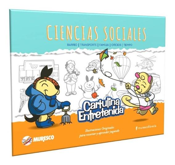 Block Ciencias Sociales - Cartulina Entretenida Muresco