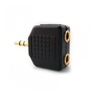 Splitter Mini Plug 3,5mm 2 X 1 Salida 2 Auriculares