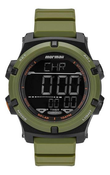 Relógio Mormaii Mo1192ad/8v Verde - Cor: Verde - Tamanho: Ún