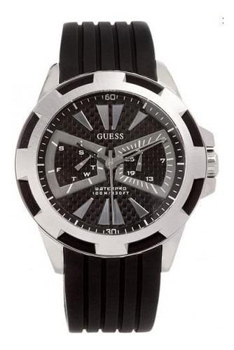 Guess - Reloj En Acero Y Miltifuncio # U90009g1 Envio Gratis