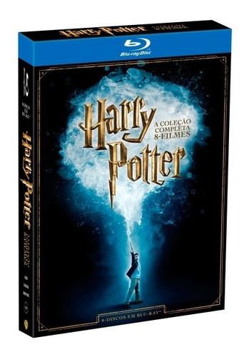 Blu-ray Box -  Harry Potter - A Coleção Completa