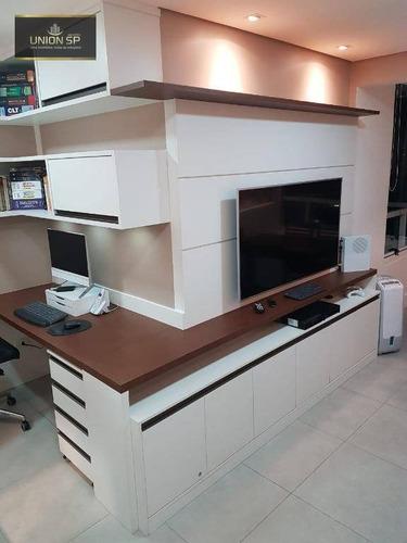 Apartamento Com 2 Dormitórios À Venda, 56 M² Por R$ 820.000,00 - Vila Mariana - São Paulo/sp - Ap48819