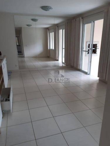 Apartamento Com 3 Dormitórios À Venda, 75 M² Por R$ 425.000,00 - Loteamento Center Santa Genebra - Campinas/sp - Ap17372