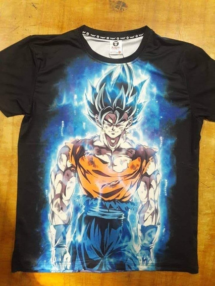 Playera Aape De Dragón Ball Goku Sublimada