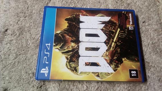 Doom Ps4 Midia Fisica