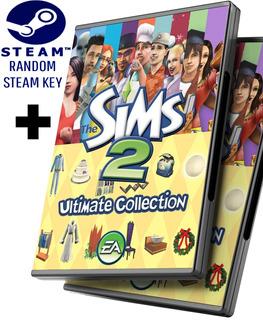 Random Steam Key + Los Sims 2 Colección Completa + Todas Las Expansiones - Juego Pc Windows + Regalo