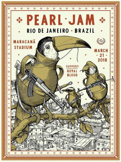 Cuadro Musica Pearl Rio De Janeiro 2018 60 X 80 Cm