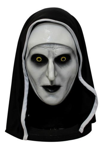 Imagen 1 de 3 de Máscara De Látex La Monja The Nun Halloween Conjuro Terror