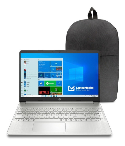 Imagen 1 de 7 de Laptop Hp 15-ef1 Amd Ryzen 3 4gb 128gb Ssd 15.6 W10h +regalo