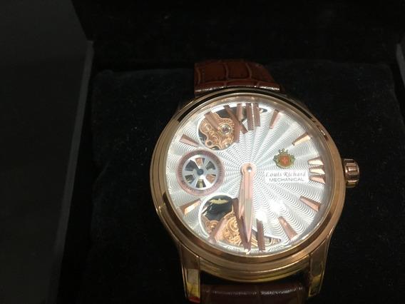 Relógio Louis Richard Hammond Mechanical - Edição Limitada