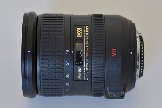 Objetiva Nikon Af-s 18-200mm F3.5-5.6g Ed Vr