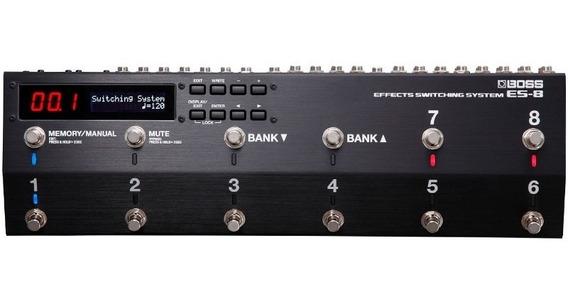 Pedal Boss Es-8 Es8 Sistema Seleção De Efeitos Looper Switch