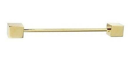 Pin Para Cuello De Camisa Dorado O Plateado Cubos D-517