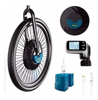 Kit Conversion Bicicleta Electrica Motor En Rueda Rodado 20º