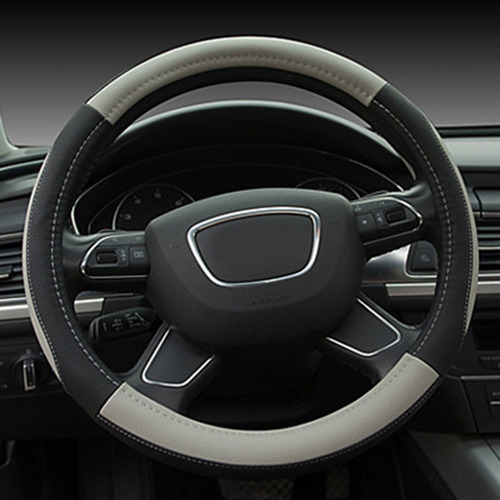 KJHDKJFH GMZFXP Funda de Cuero para Volante de Coche Cosida a Mano./para BMW F20 2012-2018 F45 2014-2018 F30 F31 F34 2013-2017 F32