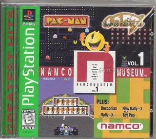 Juegos,namco Museum Vol. 1 (playstation)