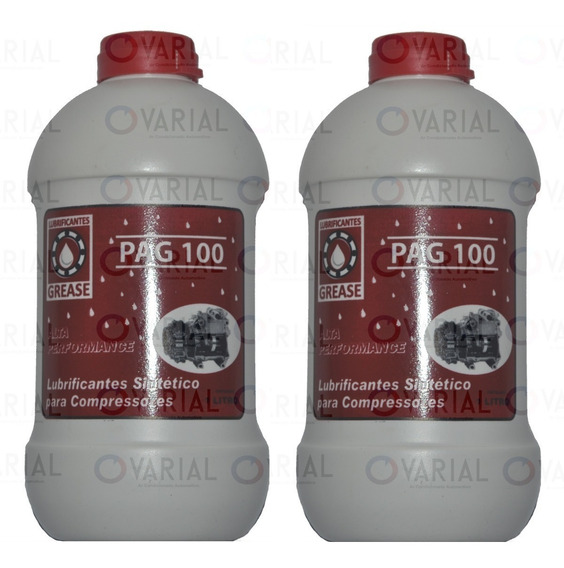Oleo Pag 100 Compressor Ar Condicionado Automotivo 2 Litros