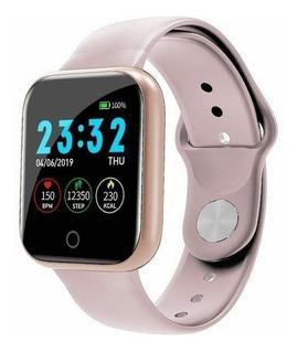 Impermeável Digital I5 Relógio Inteligente Mulheres Esport