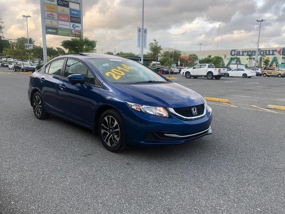 Honda Civic Ex 2014 Clean Carfax