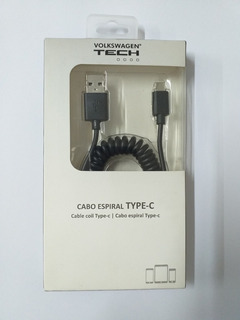 Cabo Espiral Usb Type-c Tech V04011007b
