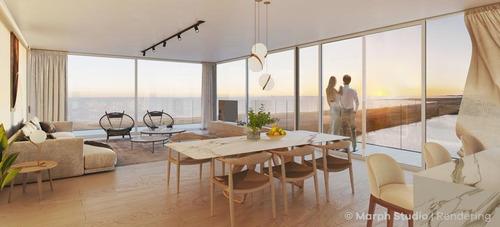 Apto 2 Dormitorios,  Vista Al Mar- Playa Mansa