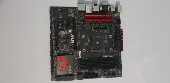 Placa Mãe Com Defeito Socket Fm2+ Msi A88xm Gaming Ddr3 A88x