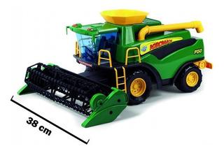 Maquina Colheitadeira Fazendeiro Verde - Poliplac