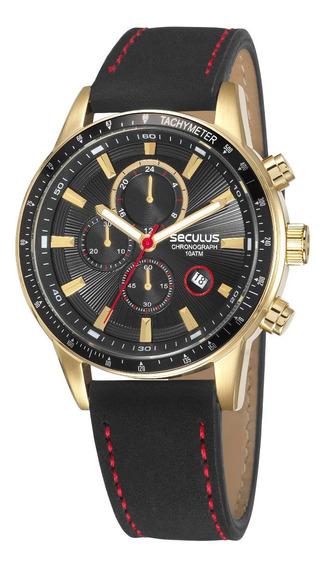 Relógio Seculus Masculino 23649gpsvha1