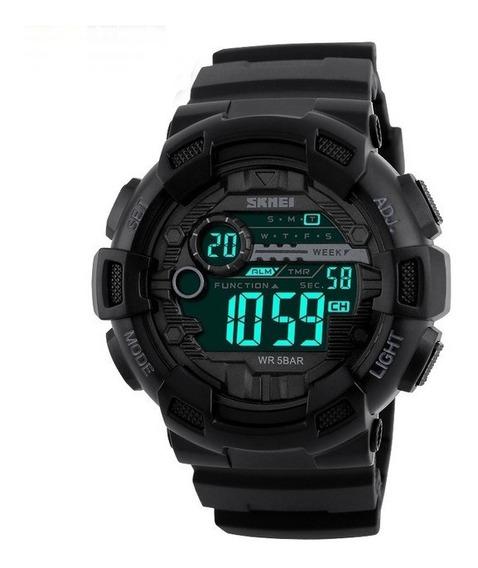 Relógio Masculino Militar Esportivo Digital Skmei Original