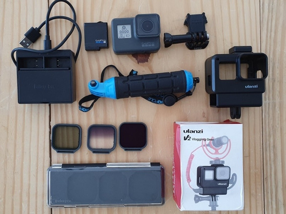 Gopro Hero6 Kit Vlog Filtro Nd Venture Case Gopro6 Hero7