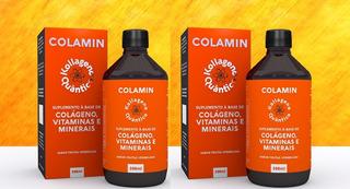 2 Frascos De Colamin Colageno Vitaminas 500ml Fisioquantic