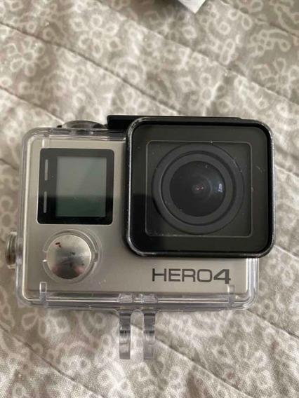 Câmera Go Pro Hero 4 Com Diversos Acessórios Todos Incluídos