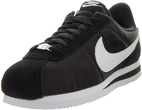Nike Cortez Basic Nylon Black / White 819720 011
