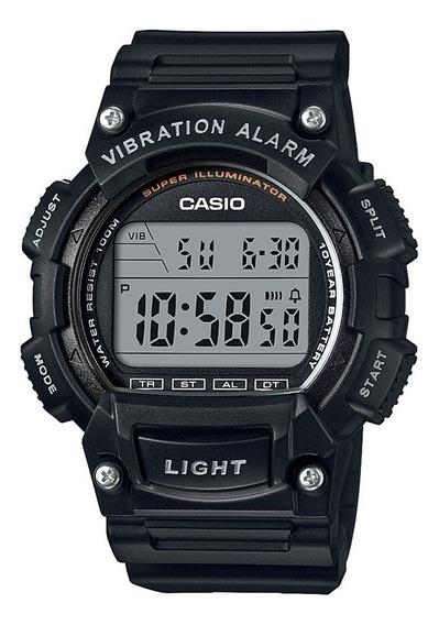 Relógio Masculino Casio Digital Esportivo W-736h-1avdf Preto