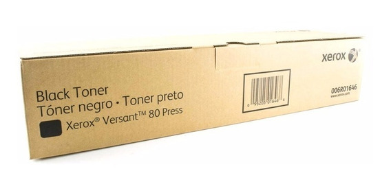 Toner Xerox Preto Versant 80/180 Original Xerox 006r01646