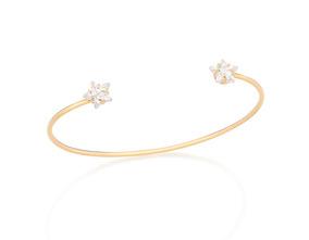 Bracelete Rommanel Com Zircônias Com Estrela - 551504