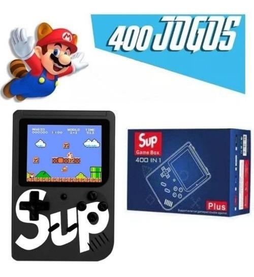 Nintendo Retro Mini Game Portátil 400 Jogos Inclusos