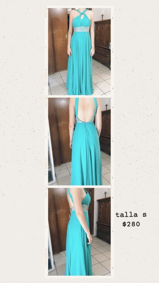 Vestido Verde Aqua