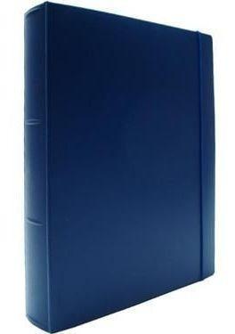 Imagem 1 de 1 de Fichario Acrimet 802 2  Oficio 2 Argolas Cor Azul Profundo