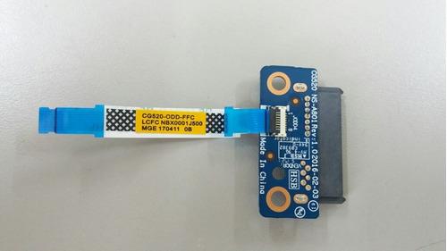 Conector Do Gravador De Dvd Lenovo Ideapad 110-15ibr Ns-a801