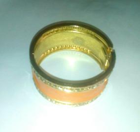 Bracelete Feminino Laranja Summertime (semi Jóia)