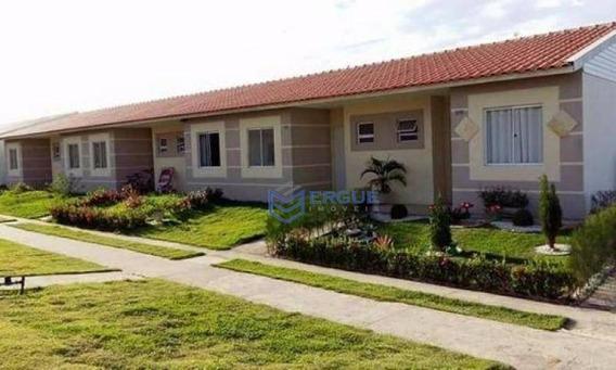 Casa Com 2 Dormitórios À Venda, 43 M² Por R$ 143.000 - Conjunto Jereissati Iii - Ca0839