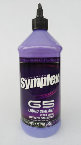 Cera O Sellador Liquido  Symplex G5 Para Vehiculos  Litro