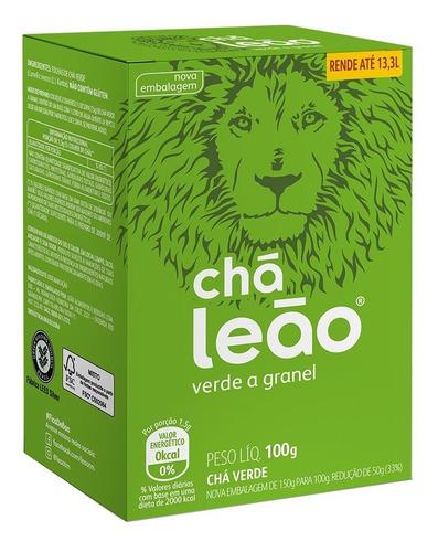 Chá Verde Leão A Granel - 100g