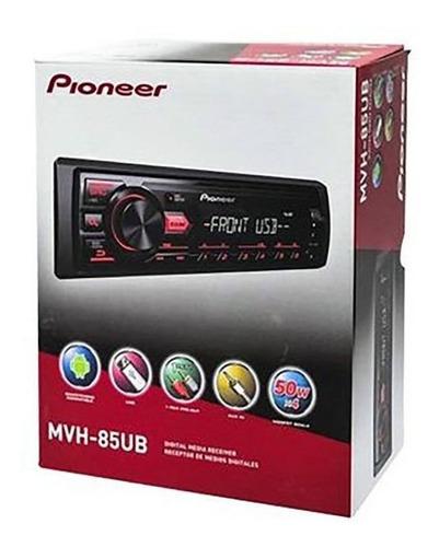 Imagen 1 de 5 de Radio/usb/aux/preout Pioneer Compatible Android Mvh-85ub