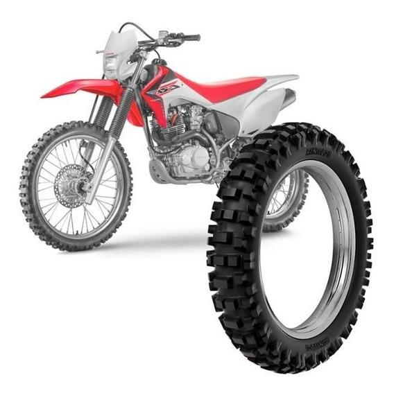 Pneu Honda Crf 230f Rinaldi 100/100-18 59m Rmx 35 Traseiro